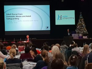 Identifying Risks - Learning from the SCC ASC Domestic Abuse Audit – Rebecca Berry- SSAB Conference 10.12.2018