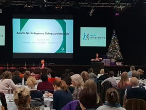 The Safeguarding Process - Reporting into the MASH - Claudine Cox - SSAB Conference 10.12.2018