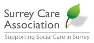 Surrey Care Accociation logo
