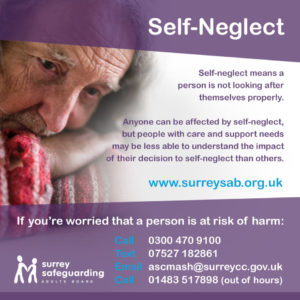 Surrey Safeguarding Adults Board - Self-Neglect information guide