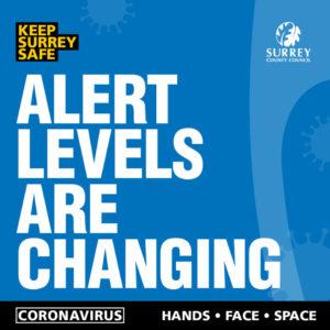 covid warning poster